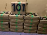 حجز نصف طن من الشيرا في العرجات وتوقيف مشتبه في تورطه في التهريب الدولي للمخدرات