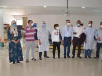 حملة للتبرع بالدم بجماعة عامر خلال فترة الحجر الصحي مبادرة طيبة