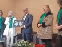 نساء حزب البيئة والتنمية المستدامة تحتفي بأمينها العام في اليوم العالمي للمرأة