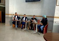 جمال الفقير يوقع روايته بالمقهى الثقافي  ببلقصيري ...