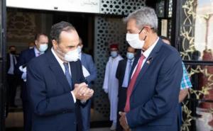 الحبيب المالكي يستقبل رئيس لجنة الخارجية بالكنيست الإسرائيلي