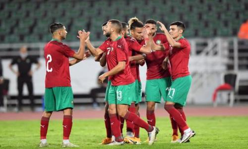 المنتخب المغربي يفوز على نظيره لافريقيا الوسطى في إقصائيات كأس إفريقيا للأمم