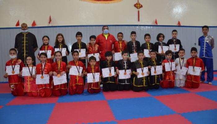 البطولة الوطنية للكونغ فو التقليدي و الطايشي المنظمة عن بعد تؤول للجمعية الرياضية شباب السلام بتمارة
