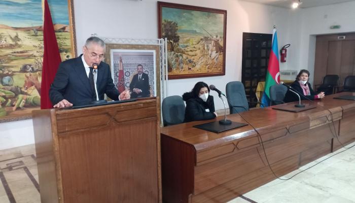 سفير جمهورية أذربيجان يحيي ذكرى مجزرة 20 يناير 1990 بمقر المندوبية السامية لقدماء المقاومين وجيش التحرير