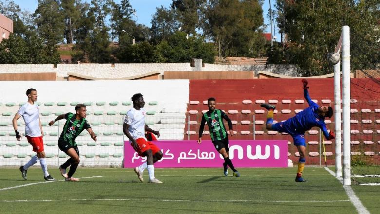 سطاد المغربي يفوز على مستضيفه شباب أطلس خنيفرة