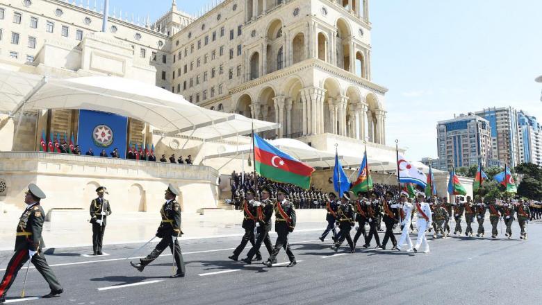26 يونيو الذكرى 102 على تاسيس الجيش الوطني الاذربيجاني