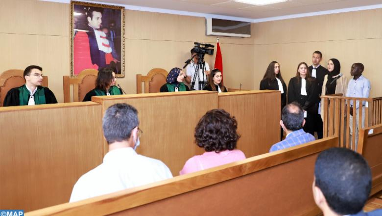 الرباط.. طلبة الحقوق يقدمون تمرين محاكاة لمحاكمة حول الهجرة